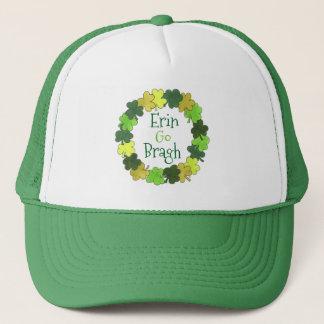 エリンは緑のシャムロックの帽子Braghアイルランドの永久に行きます キャップ