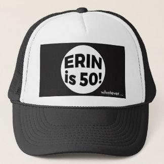エリンは50です! …ものは何でも キャップ