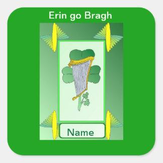 エリンはBraghのアイルランド項目行きます スクエアシール