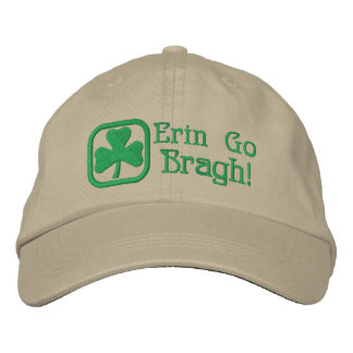 エリンはBragh行きます! 刺繍入りキャップ