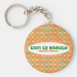 エリンはBraughアイルランド永久に行きます キーホルダー