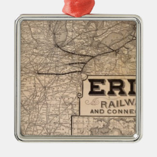 エリーの鉄道およびつながり メタルオーナメント