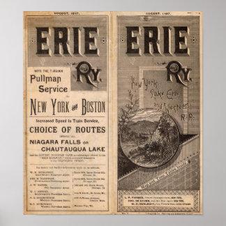 エリーの鉄道 ポスター