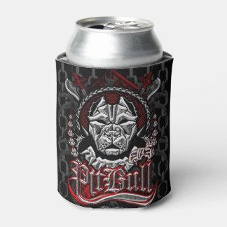 エリートのピットブルの頂上のロゴ 缶クーラー
