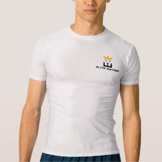エリートの国家の圧縮 Tシャツ