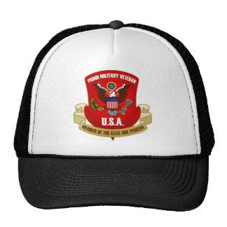 エリート1% (赤い) メッシュ帽子