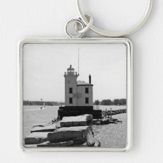 エリー湖の灯台 キーホルダー