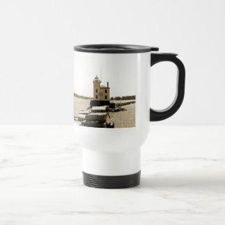 エリー湖の灯台 トラベルマグ