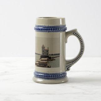 エリー湖の灯台 ビールジョッキ