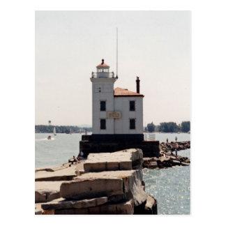 エリー湖の灯台 ポストカード