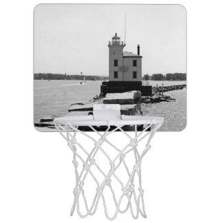 エリー湖の灯台 ミニバスケットボールゴール