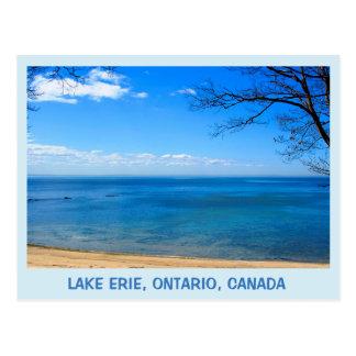 エリー湖、オンタリオ、カナダのjjheleneの郵便はがき ポストカード