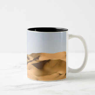 エルグAwbariのサハラ砂漠砂漠、Fezzan、リビア。 2 ツートーンマグカップ
