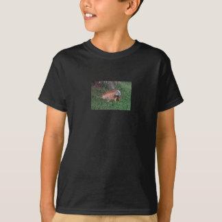 エルサルバドルのイグアナが付いている子供のTシャツ Tシャツ