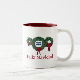 エルサルバドルのクリスマス2 ツートーンマグカップ