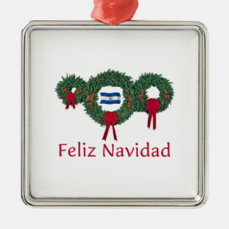 エルサルバドルのクリスマス2 メタルオーナメント
