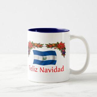 エルサルバドルのクリスマス ツートーンマグカップ