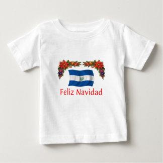 エルサルバドルのクリスマス ベビーTシャツ