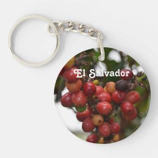 エルサルバドルのコーヒー豆 キーホルダー