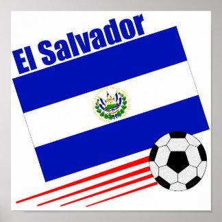 エルサルバドルのサッカーチーム ポスター