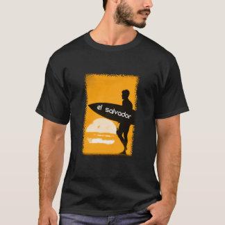 エルサルバドルのサーファーのワイシャツ Tシャツ