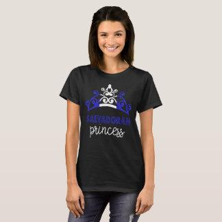 エルサルバドルのプリンセスのティアラの国旗のTシャツ Tシャツ