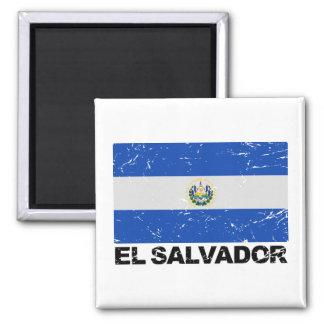 エルサルバドルのヴィンテージの旗 マグネット