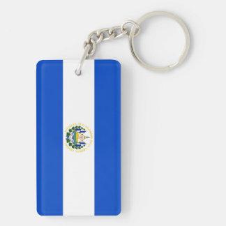 エルサルバドルの国の長い旗の国家の記号のrepubl キーホルダー