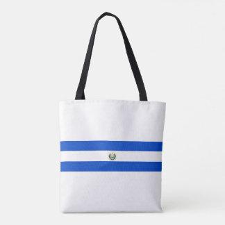 エルサルバドルの国の長い旗の国家の記号のrepubl トートバッグ
