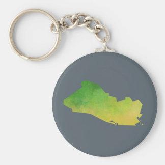 エルサルバドルの地図 キーホルダー