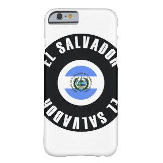 エルサルバドルの旗のシンプル BARELY THERE iPhone 6 ケース