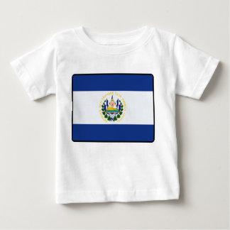 エルサルバドルの旗のベビーのTシャツ ベビーTシャツ