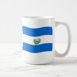 エルサルバドルの旗のマグ コーヒーマグカップ