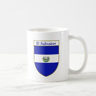 エルサルバドルの旗の盾 コーヒーマグカップ