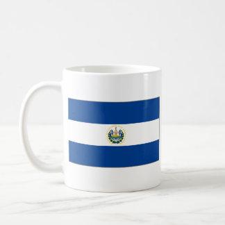 エルサルバドルの旗の~の地図のマグ コーヒーマグカップ