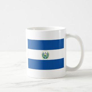 エルサルバドルの旗 コーヒーマグカップ