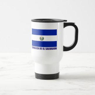 エルサルバドルの旗 トラベルマグ
