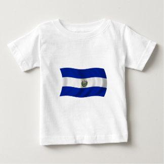 エルサルバドルの旗 ベビーTシャツ