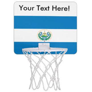 エルサルバドルの旗 ミニバスケットボールゴール