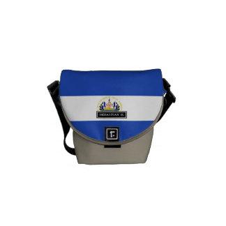エルサルバドルの旗 メッセンジャーバッグ