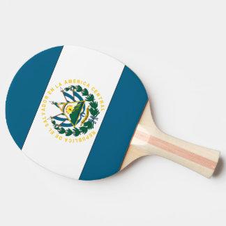 エルサルバドルの旗 卓球ラケット