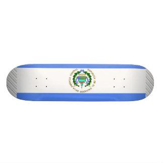 エルサルバドルの旗 21.6CM オールドスクールスケートボードデッキ