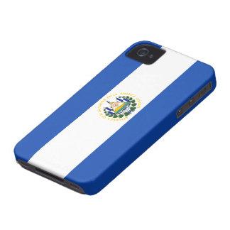 エルサルバドルの旗 Case-Mate iPhone 4 ケース