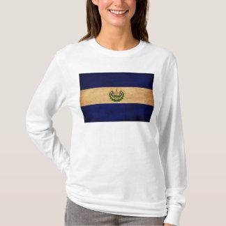 エルサルバドルの旗 Tシャツ