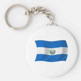 エルサルバドルの旗Keychain キーホルダー