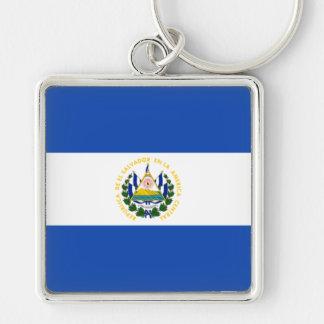 エルサルバドルの旗SV キーホルダー