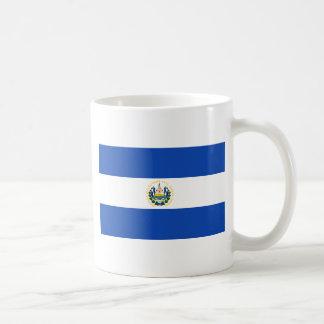 エルサルバドルの旗SV コーヒーマグカップ