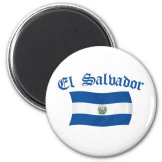 エルサルバドルの波状の国旗 マグネット