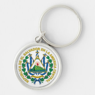 エルサルバドルの紋章付き外衣 キーホルダー