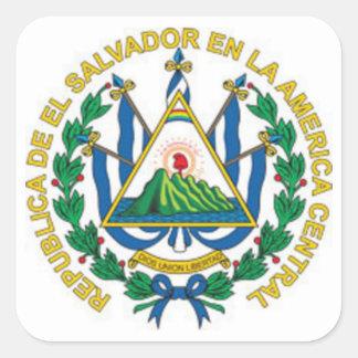 エルサルバドルの紋章付き外衣 スクエアシール
